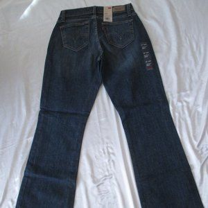 Levi's 529 Jeans 155350031 Curvy Bootcut Brand New